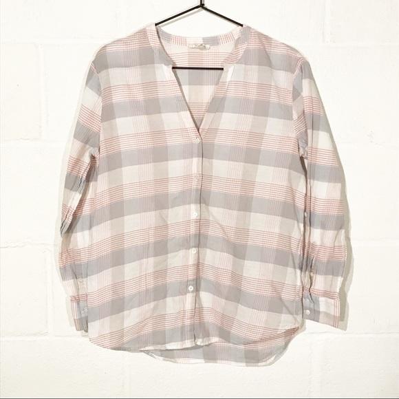 Soft Joie Plaid Button Down Shirt